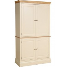 Lundy painted double larder cupboard