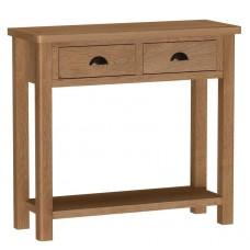 Rachael Oak console table