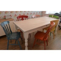 Farmhouse painted table & chairs