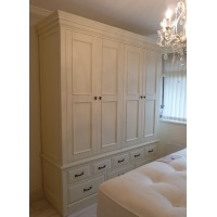 Custom made edwardian style wardrobes