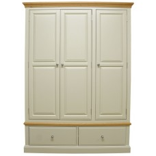 Duchess Painted Triple Wardrobe
