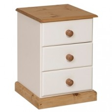 Torridge Painted 3 Drawer Bedside