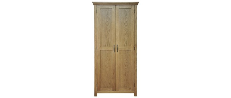Cranworth Oak Full Hanging Wardrobe