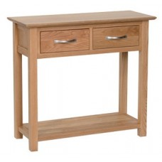 Evian 2 Drawer Console Table