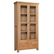 Dorset Display Cabinet with Glass Doors