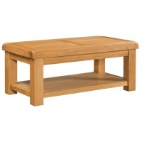 Clovelly Coffee Table with Shelf