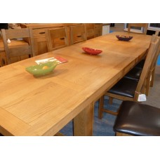 Clovelly Extra Large Extending Dining Table