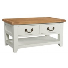 Cornwall 2 Drawer Coffee Table