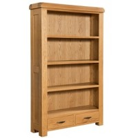 Clovelly Large Bookcase with 2 Drawers