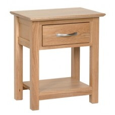 Evian 1 Drawer Side Table