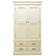 Edwardian 2 Door 4 Drawer Wardrobe