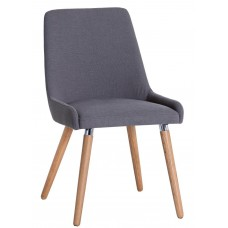 Neptune Grey Fabric Chair