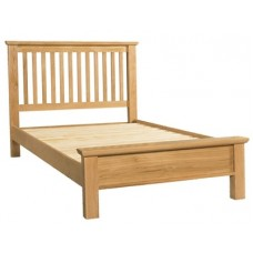 Siena Double Low Foot End Bed